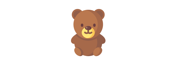 Illustration: Teddybär