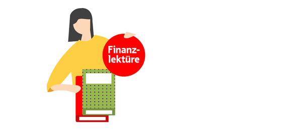 Illustration: Finanzlektüre