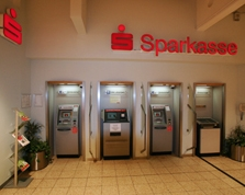 Sparkasse Geldautomat Rewe-Center