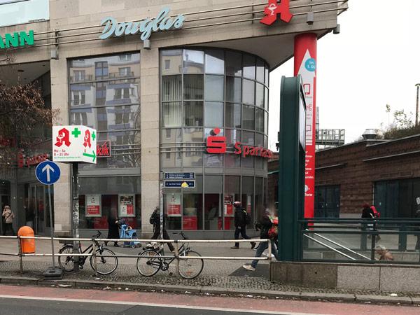 Sparkasse Geldautomat Frankfurter Allee