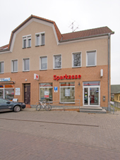 Sparkasse Geldautomat Rathenow-West