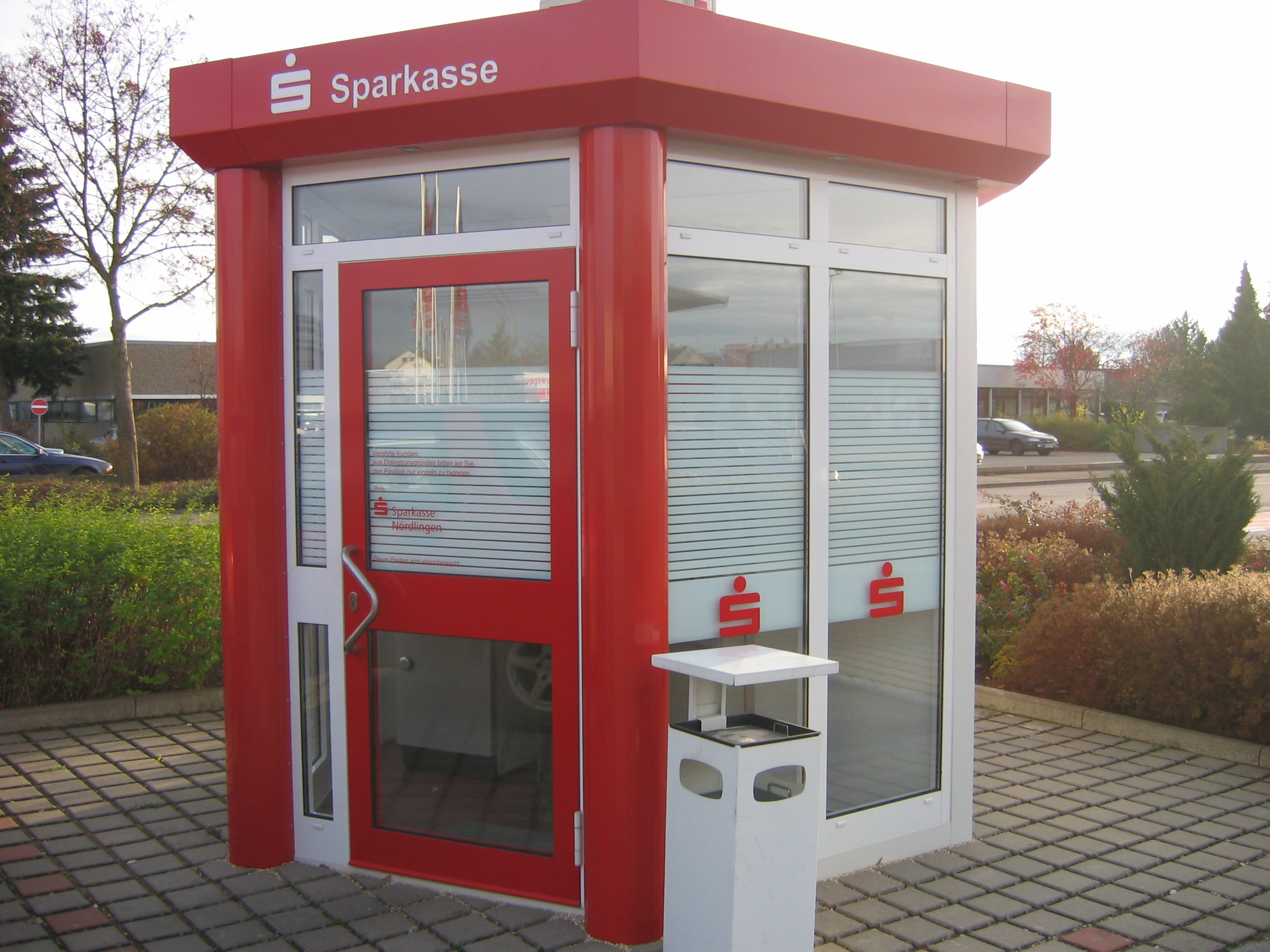 Sparkasse SB-Center Nördlingen, Hofer Str.