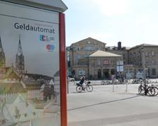 Sparkasse Geldautomat Bahnhof (Ecke Ludwig-/Luitpoldstraße)