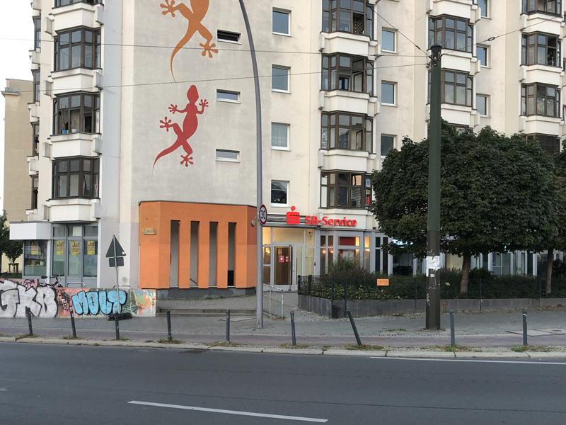 Sparkasse Geldautomat Petersburger Straße