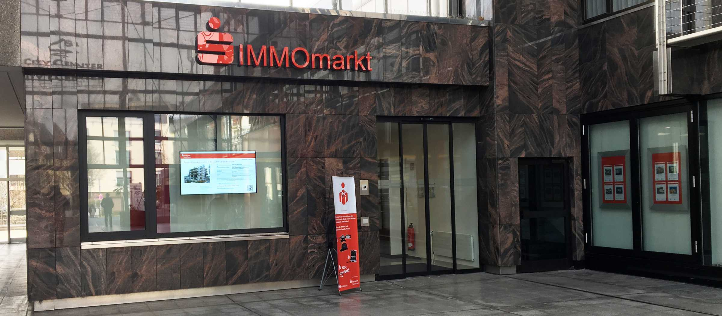 Sparkasse Immobiliencenter S-IMMOmarkt