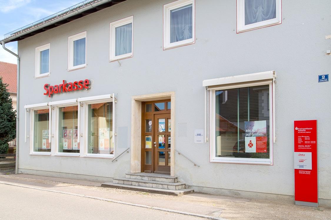 Kreissparkasse Kelheim Geldautomat Aiglsbach
